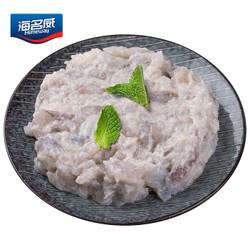 海名威 冷冻新鲜青虾滑 150g *10件