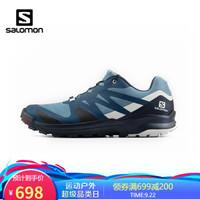 萨洛蒙(Salomon)男款 户外舒适缓震透气徒步鞋 XA ROGG 蓝色 411123 UK8(42)