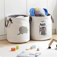 斑哲 脏衣篓 儿童玩具收纳桶