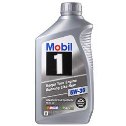 Mobil 美孚 1号 5W-30 SN 全合成机油 946ml *12件