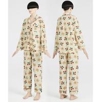 DAPU 大朴 女士纯棉宽松睡衣套装