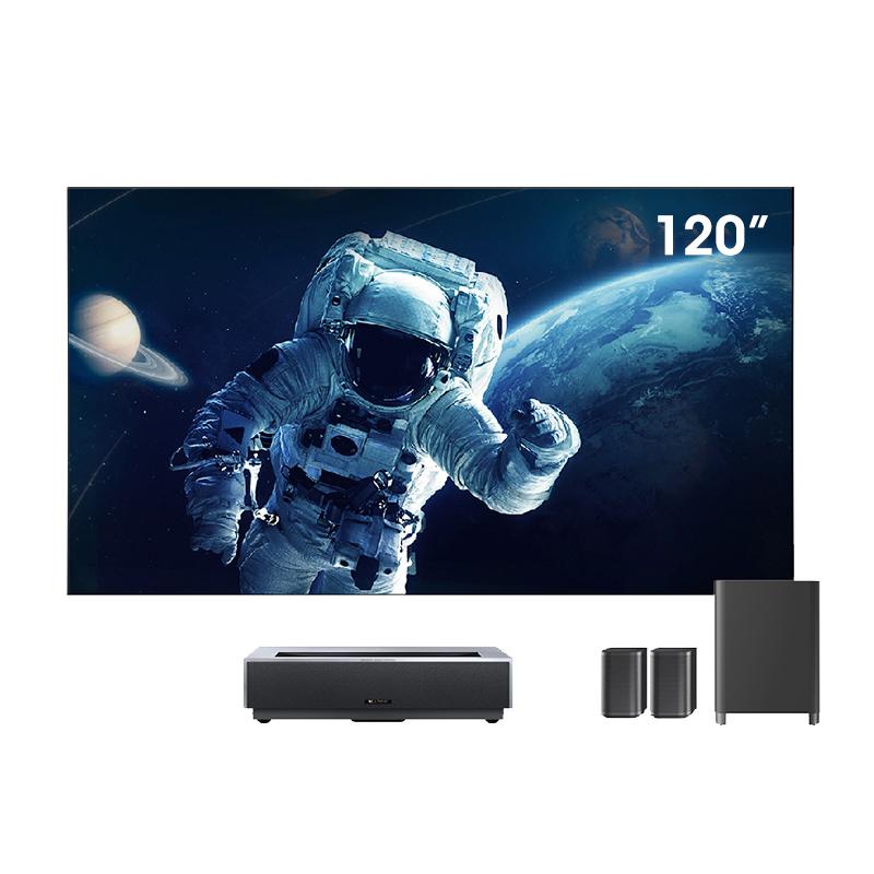 峰米 4K Max 激光电视 含100英寸菲涅尔屏