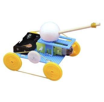 约巢 DIY材料 小制作动力坦克