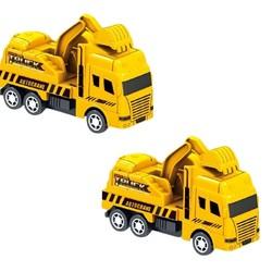 巧之木  儿童回力城市工程消防车套装  4件