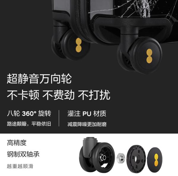 LEVEL8 x 周杰伦&蒋先威联合设计 环保行李箱