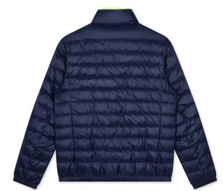GXG 男士灰鸭绒立领保暖短款羽绒服GY111130G598 藏青XXXL