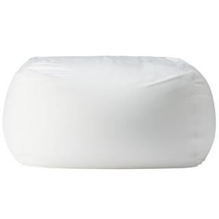 MUJI 无印良品 懒人沙发 单人 白色