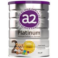 a2 艾尔 白金系列 幼儿配方奶粉 2段 900g