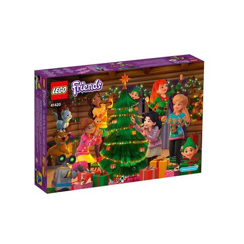考拉海购黑卡会员:LEGO 乐高 好朋友系列 41420 好朋友圣诞倒数日历 *2件