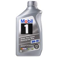 Mobil 美孚 1号 5W-30 SN 全合成机油 946ml *7件