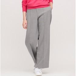 UNIQLO 优衣库 425341 女士高腰宽腿长裤