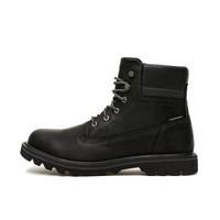CAT/卡特专柜同款春季新款男DEPLETE WP牛皮革黑色休闲靴P721724I3BDC09 黑色 41