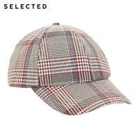 SELECTED 思莱德 419386501 男士商务休闲鸭舌帽子