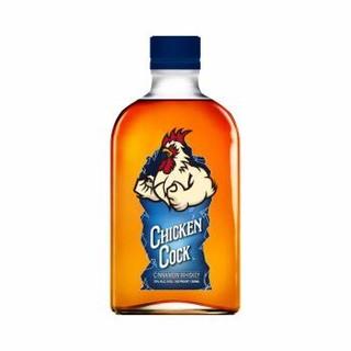 奇咖(Chicken Cock)调和型威士忌 美国风味 进口洋酒 肉桂口味200ml *9件