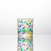 意大利原产 ZECCHIN叶纹系列酒杯杯子手工水杯260ml 绿色