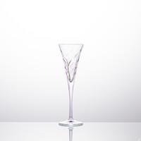 意大利原产ZECCHIN叶纹系列笛型杯高脚杯红酒杯 紫色