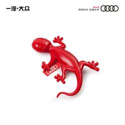 Audi奥迪汽车壁虎香薰出风口夹车载香水摆件