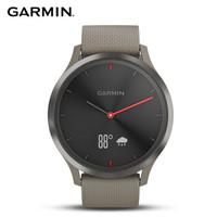 佳明(GARMIN)vivomove HR 智能光学心率活动智能通知健康指针隐藏式触摸屏智能手表 运动版标准号深邃黑