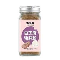 米小芽 黑芝麻粉宝贝调味粉 40g *3件