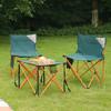 牧高笛(MOBIGARDEN)折叠椅 户外折叠椅超轻便携式休闲椅易携带钓鱼椅 森林绿