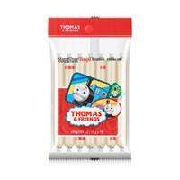 小火车Thomas 韩国进口  零食鱼肠 儿童肠 宝宝鱼肉火腿肠 奶酪鳕鱼肠105g *3件+凑单品