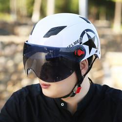 志动 ZD0031 半覆式电动自行车头盔