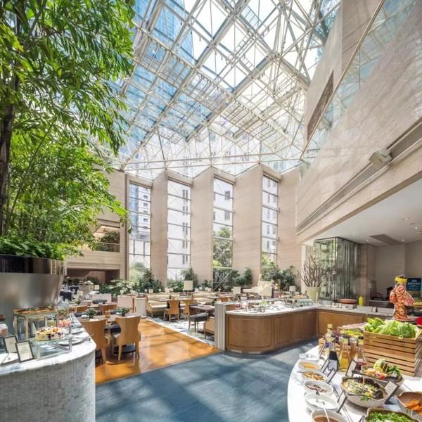 话梅酒香蟹不一般,5种蟹畅吃!上海静安昆仑大酒店大闸蟹主题自助晚餐