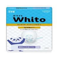 妮飘Nepia Whito 12小时拉拉裤XXL4片(13-25kg)婴儿尿不湿试用装 日本进口海量吸收 *3件