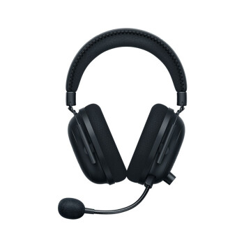 RAZER 雷蛇 旋风黑鲨V2 专业版 无线头戴式电竞游戏耳机 黑色