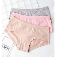 Eve's Wish 燕之花 B18012 女士纯棉内裤 3条装