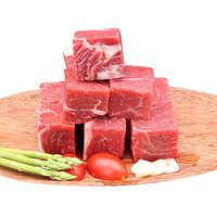 桃李村  新鲜牛腩肉 牛腩粒  4斤