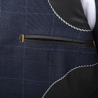 TEDELON 太子龙 2-TZL-028A 男士格纹西装 外套+裤子
