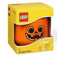 LEGO 乐高 room收纳盒 万圣节南瓜头整理箱