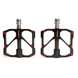 PROMEND钛轴碳管自行车脚踏 86T山地车3培林脚蹬公路车骑行脚踏板