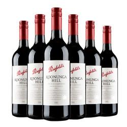 奔富 澳洲原装进口寇兰山/蔻兰山西拉赤霞珠红葡萄酒750ml*6红酒整箱装 6瓶装