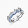ILY ILY-520096 云与水925纯银戒指