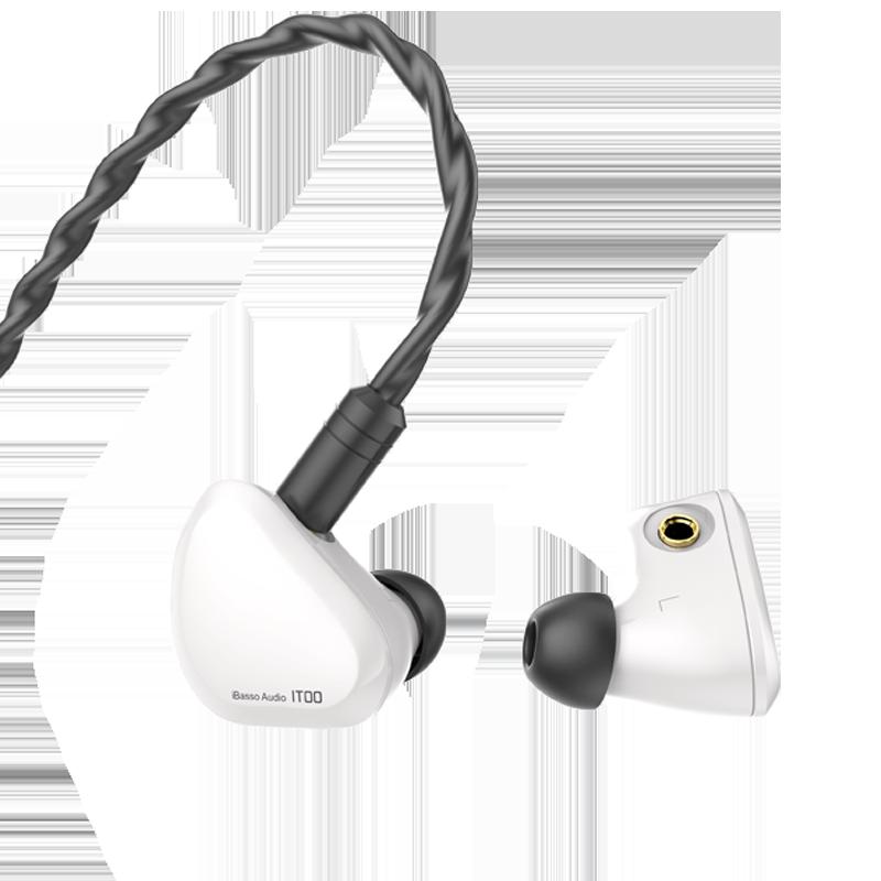 iBasso 艾巴索 IT00 有线入耳式耳机 白色