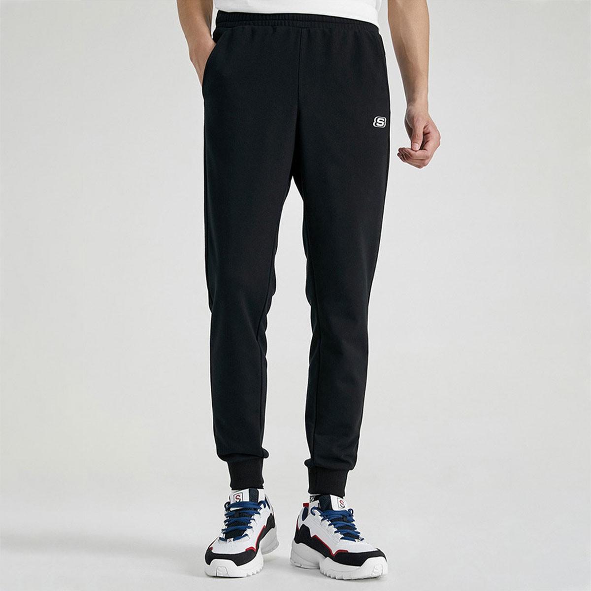 SKECHERS 斯凯奇 L220M195-0018 男子束脚裤