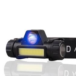 迭影 dy159 双灯源LED强光头灯