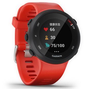 佳明(GARMIN)Forerunner 45 耀红 三星定位 智能手表 男女心率腕表 跑步骑行智能通知运动时尚手表