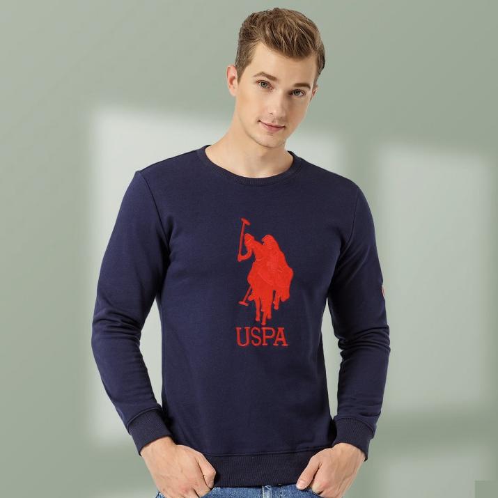 U.S. POLO ASSN. 美国马球协会 ZSMC9813295 男士纯棉卫衣