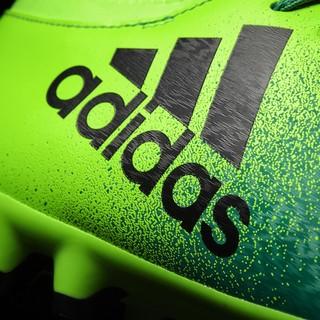 adidas 阿迪达斯 X 16.3 AG 男士足球鞋 BB5851 太阳能绿/1号黑色/基础绿 42