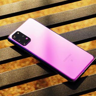 SAMSUNG 三星 GalaxyS20+ BTS定制版 5G手机 12GB+128GB 小王紫