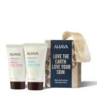 AHAVA 矿物身体护理两件套装(身体乳40ml+护手霜40ml)