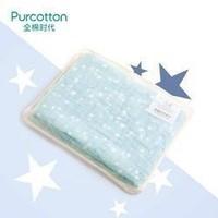 全棉时代 PurCotton 婴儿儿童6层水洗绗缝小星星纱布宝宝浴巾 95*95cm 1件装 *3件