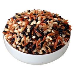 糙米5斤五谷杂粮红米黑米糙米粗粮健身胚芽脂减饭