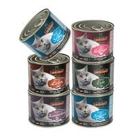 LEONARDO 主食猫罐头 混合口味 200g*6罐