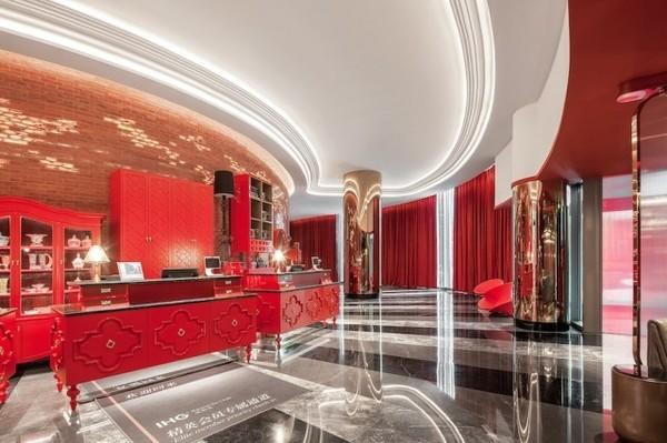 限周末使用!上海虹桥英迪格酒店高级房1晚含双早+正餐套餐1份(午餐/晚餐任选)