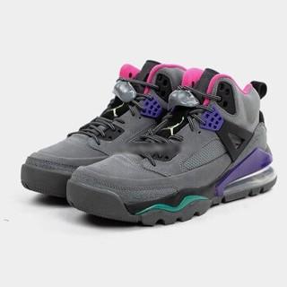 AIR JORDAN Spizike 男士篮球鞋 CT1014-002 水泥灰/紫色 43
