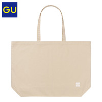 GU极优环保袋2020夏季新款时尚潮流简约复古纯棉手提包日系324714